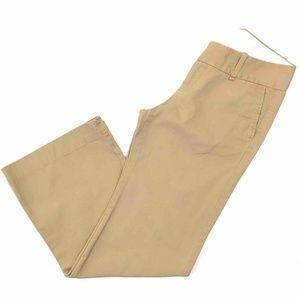Gap Womens Khaki Dress Pants Brown Flap Pocket 8